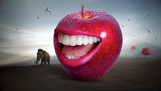 mamut za jablkem