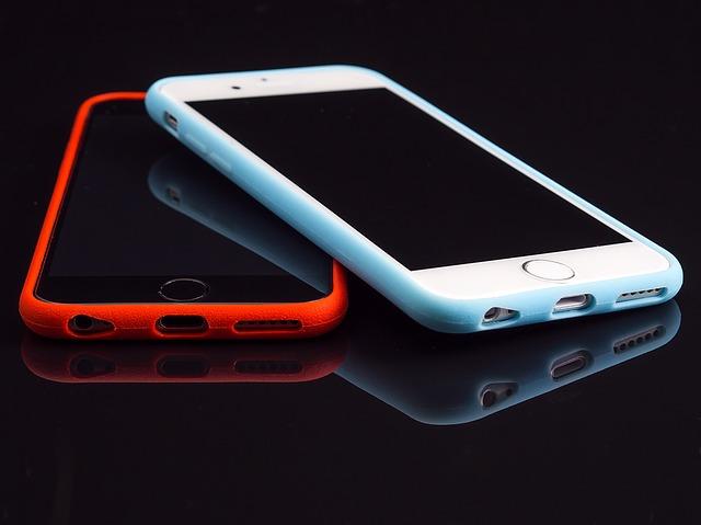 nové telefony