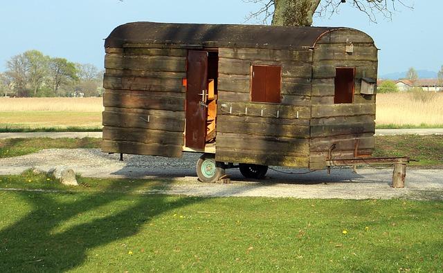 Starožitný mobilní dům
